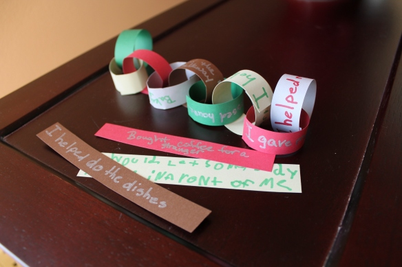 Kindness Chain {The Reluctant Hippie}